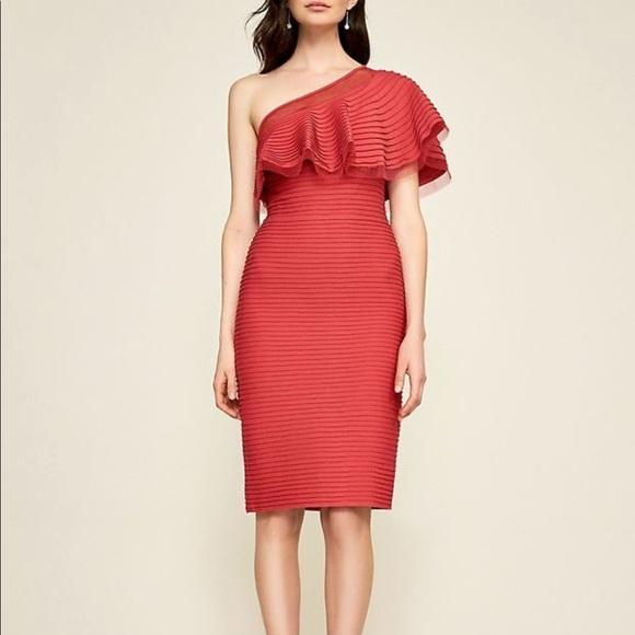 NWT Tadashi Shoji One Shoulder Dress